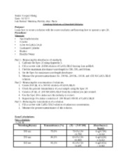Chem 1251 Lab Report - Creating Solutions of Standard Molarity (1)
