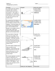 Worksheet 1 - Trig - application problems.docx