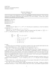 CMPUT 272 Assignment 3 Solutions