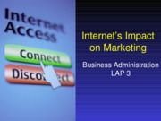 Internet's Impact on Marketing