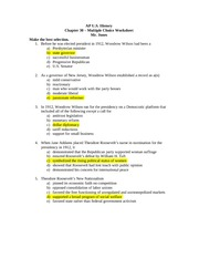 apush ch 27 questions This test will determine whether you have learned the essentials of apush's chapters 3 through 4.