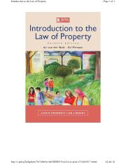 Introduction to law of property 7th ed.pdf