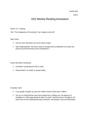 i202 annotating week 8