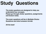 Study_Questions