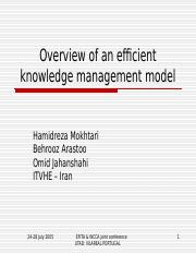 12_Overview_efficient_knowledge_management_system