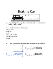 Motion Problem Solutions