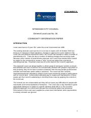 Wyndham_General_Local_Law_No_16_Community_Information_Paper.doc