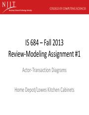 IS 684-F13 -Review-Modeling Assignment #1.pdf