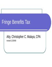 Fringe-Benefits-Tax.pps