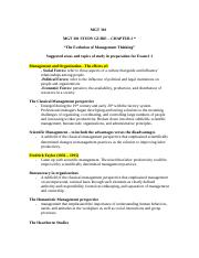 MGT 301 Ch. 2 Study Guide.doc