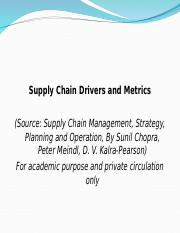 259132335-Supply-Chain-Metrics-and-Drivers.ppt