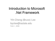 lecture8 microsoft dotnet framework intro