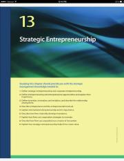Strategic Mgt - Chapter 13