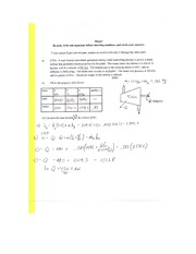 old Exam 2 Solution