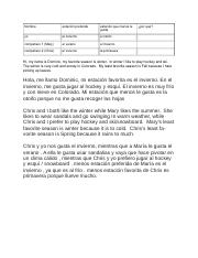 Spanish Composition 3(Word)