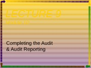 LECTURE_9_Module_10_Reporting_S2_2008