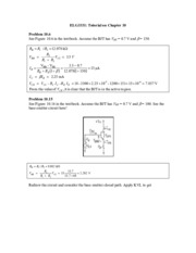 Exercise Solutions to chapter10 for Introduction to Laboratory.pdf