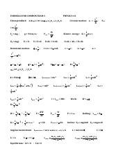 Exam3_practiceA - Physics 111 PRACTICE COMMON Exam 3 Name(Print 4