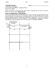 Structural Engineering Exam 3A Solution