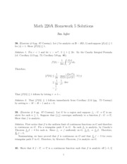 Math 220A Homework 5 Solutions