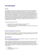 unit 305 case study 1 2018-05-28 view essay - lg305 unit 7 case study finaldocx from lg 305 at park university case study 7 mahindra and mahindra lg305 park university denise kelley case study 7 in 1947, mahindra and  lg305 unit 1 nike case study.