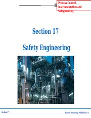 Section-17 Safety Engineering.ppt