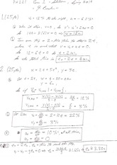 PH 221 Exam 1 Solutions Spring 2014