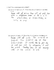 Midterm 1a- Solutions