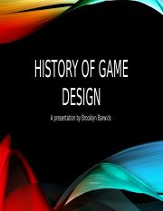 History of game design.pptx