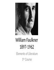 William Faulkner.pptx