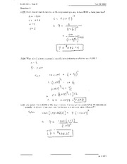 Math 111 Test 3 Solutions