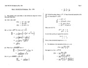 Math 100 Dec 94 Answers