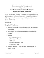 Homework on Quantitative Financial Analysis Techniques