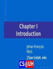 Chapter I  Introduction.ppt