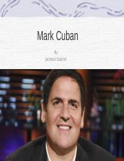marc_cuban revised .ppt