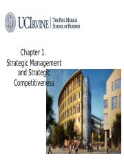 Ch01_Strategic Management and Strategic Competitiveness.pptx