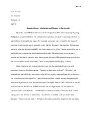 mp essay koczan evan koczan mr tortorici religion  4 pages religion essay 2 mp4