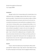 Movie Paper 1 - Part 1 & 2