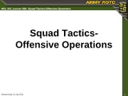MSL301_L06b_Squad_Tactics_Offensive_Operations