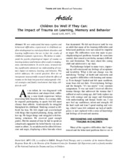 childrenTraumaOutcome