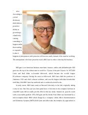 Bill gate is an American business magnate.doc