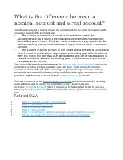 What is the difference between a nominal account and a real account2.docx