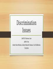 Discrimination Issues (4)