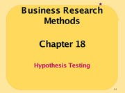 Ch18_Hypothesis Testing
