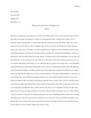Outline essay 4