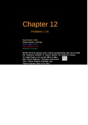 Copy of FCF 9th edition Chapter 12