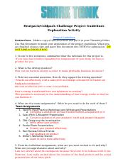 Heatpack/Coldpack Challenge Project Guidelines Exploration.docx