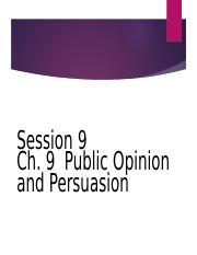 231 Ch9 Public Opinion.ppt