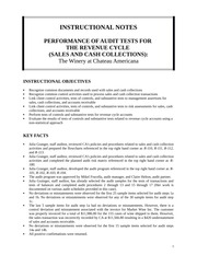 Performance of Audit Tests 3rd Edition
