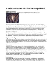 Characteristics of Successful Entrepreneurs.docx